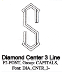 Diamond Center 3 Line
